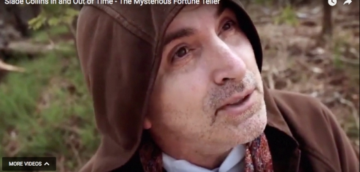 "Alan as The Mysterious Fortune Teller from feature film ""Slade Collins: In and Out of Time""."